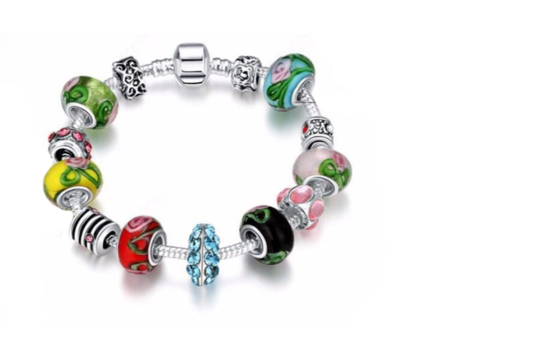 The Best Deal Guide - £9 instead of £77 for a multi-colour glass bead bracelet from Van Amstel International PTE LTD - save 88%