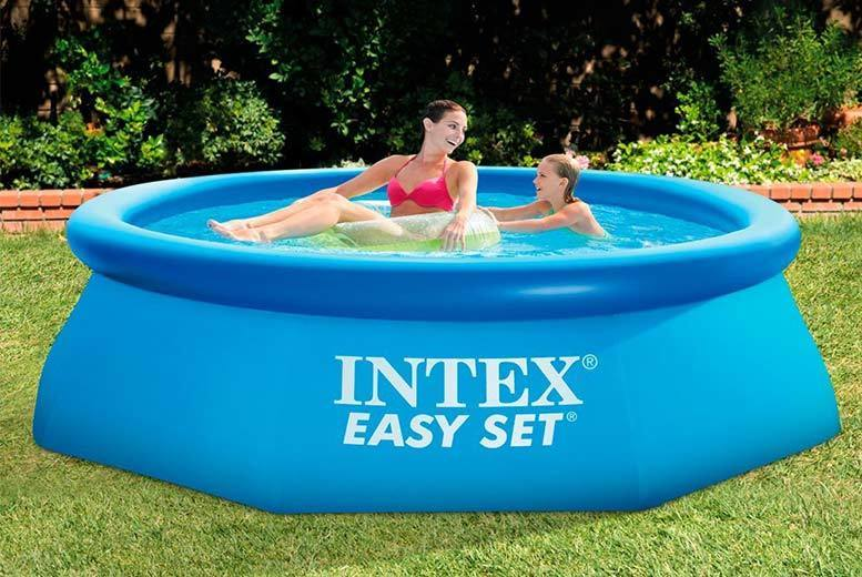 The Best Deal Guide - From £19.99 (from Direct2Public) for an Intex inflatable swimming pool - select from three sizes and save up to 64%