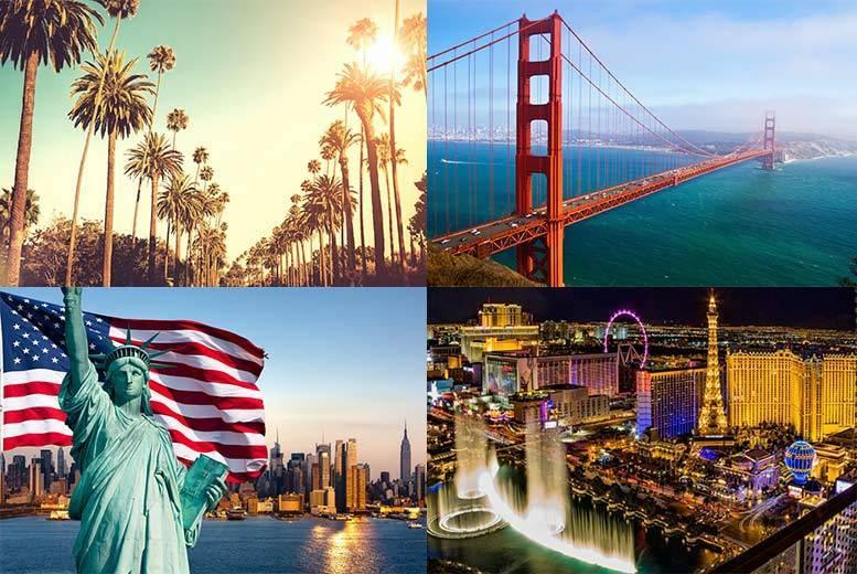more photos e6a63 ec1d6 8 or 10nt New York, Las Vegas, LA   San Francisco with Flights