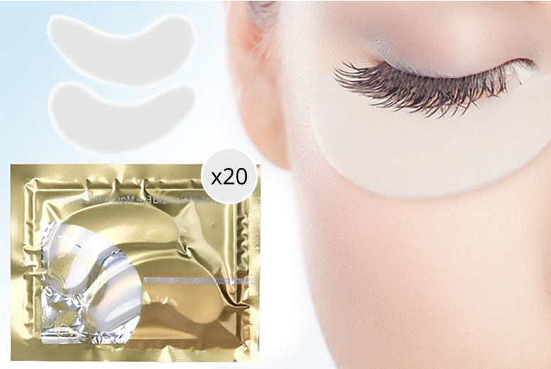The Best Deal Guide - £4.99 instead of £82 for 20 hyaluronic collagen eye masks from Forever Cosmetics - save 94%