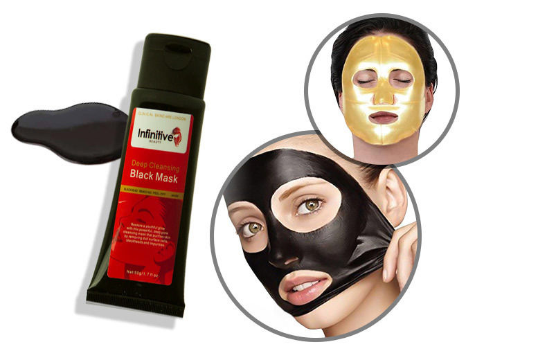 The Best Deal Guide - £6 instead of £84.94 for a peel-off blackhead mask and five collagen masks from Forever Cosmetics - save 93%