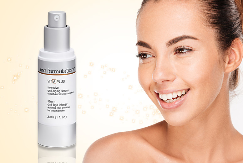 The Best Deal Guide - £14.99 instead of £43.01 (from Some More) for a 30ml tube of MD Formulations VIT-A-PLUS anti-aging serum - save 65%