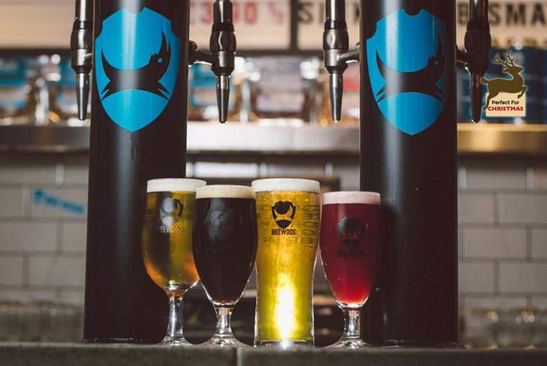 The Best Deal Guide - £19.99 instead of £40 for a tutored craft beer tasting experience for two with cheese pairings at BrewDog - choose from 29 locations and save 50%