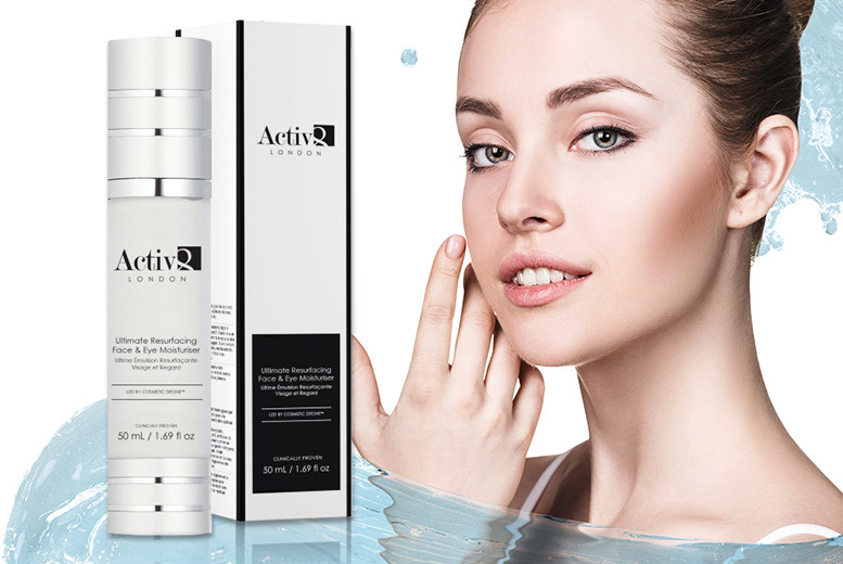 The Best Deal Guide - £11.99 instead of £146.01 (from Feel Unique) for an ultimate resurfacing face and eye moisturiser - save 92%