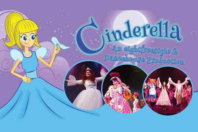 The Best Deal Guide - £9 instead of up to £15 for a ticket to see Cinderella at The Dancehouse, Manchester - save up to 40%