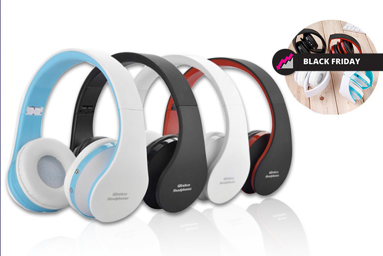 The Best Deal Guide - £12.99 instead of £51 (from eFindBest) for a pair of foldable wireless Bluetooth headphones - choose from four colours and save 75%