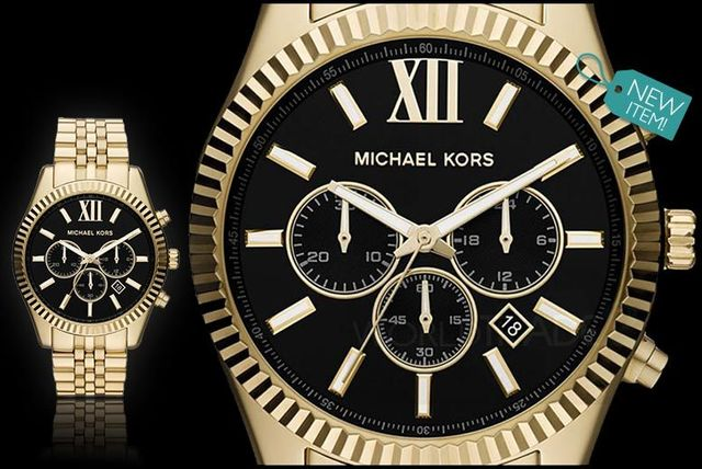 72ffe8468ba3 £139 instead of £259 for a men s Michael Kors MK8286 Lexington chronograph  watch from Gray Kingdom - save 46%