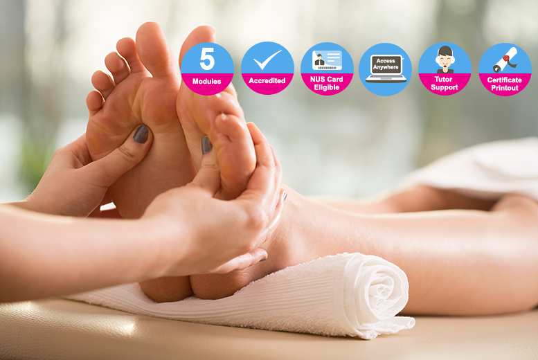 The Best Deal Guide - £18 instead of £99 (from New Skills Academy) for an accredited reflexology diploma - save 82%