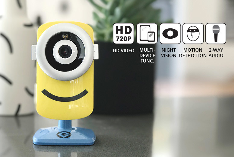 The Best Deal Guide - £29 instead of £65.01 (from Tend) for a Despicable Me Minions smart Wi-Fi home security camera - save 55%