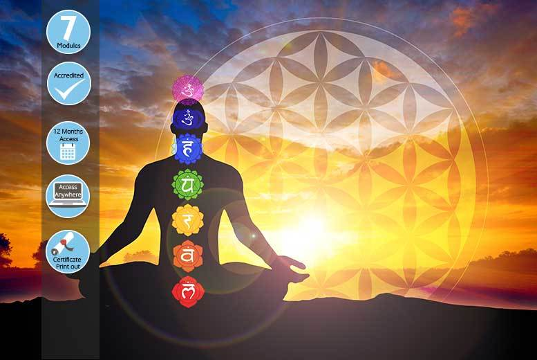 The Best Deal Guide - £16 instead of £99 for an online chakras and your energy body course from Kew Training Academy - save 84%