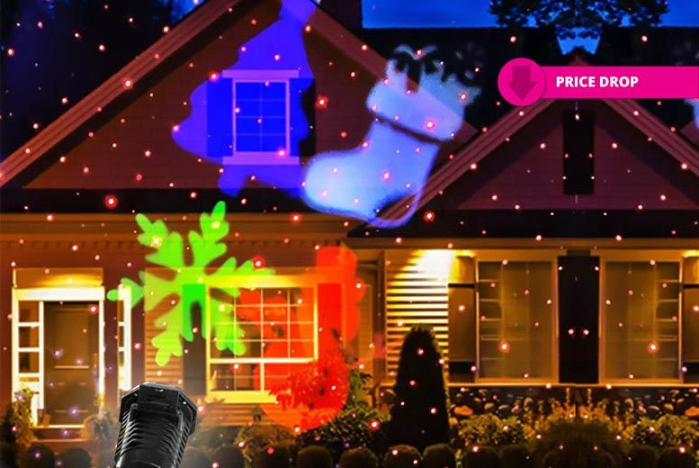 The Best Deal Guide - £19 instead of £79.99 (from Groundlevel) for a moving LED laser outdoor Christmas light - watch it dance across your house and save 76%