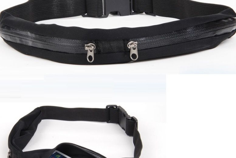 The Best Deal Guide - From £3.99 for a zip pocket smartphone running belt from Snap One Up Ltd - save up to 77%