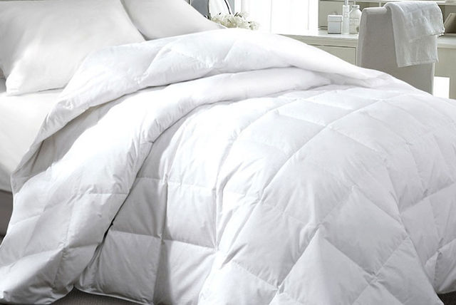 3 Seasons 15 Tog Duck or Goose Feather & Down Duvet - 4 Sizes! : duck feather quilt king size - Adamdwight.com