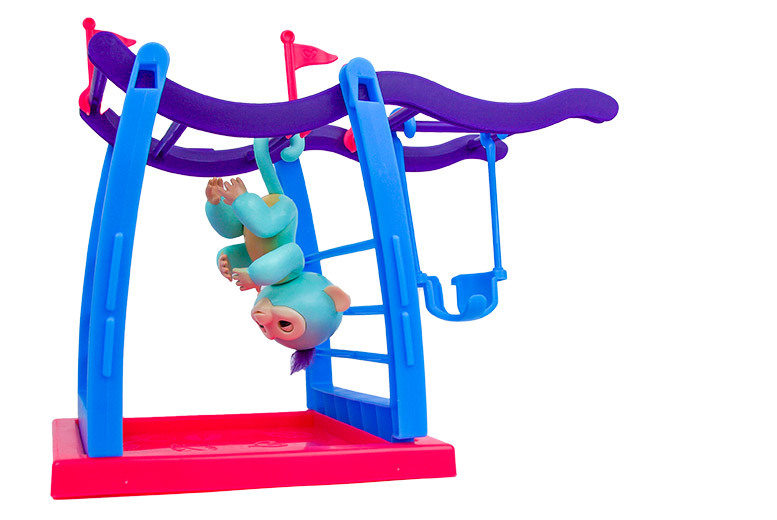 The Best Deal Guide - £12 instead of £27.99 (from DML Solutions) for an Interactive Finger Monkey Play Gym with Swing - save 59%