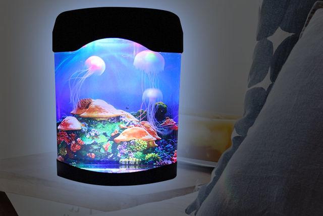 Led Jellyfish Aquarium Lamp Shopping Livingsocial