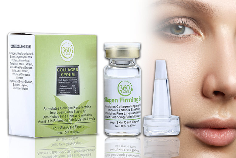 The Best Deal Guide - £6 instead of £59.99 (from Seated Toad) for a 10ml bottle of collagen serum - save 90%