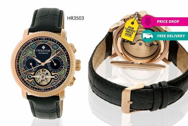 2fe47b523 Men's Heritor Watches | Shopping | LivingSocial