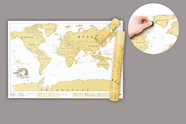 Large Scratch Off World Map.Large Scratch Off World Map Shopping Livingsocial