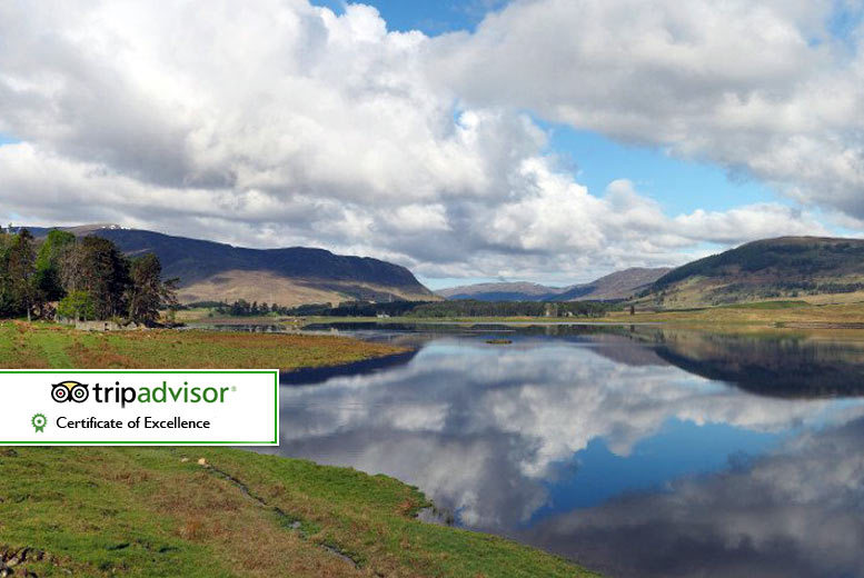 The Best Deal Guide - £64 instead of £105.05 for an overnight stay for two with breakfast, a bottle of wine to share and pool access, or £109 for two nights at Balavil Hotel, Newtonmore - escape the city and save up to 39%