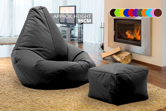 EUR3999 Instead Of EUR11096 From UK Beanbags For A Highback Beanbag With Matching Footstool Perfect Indoors And Outdoors