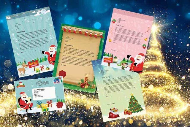 get a personalised letter from santa free delivery a2 99