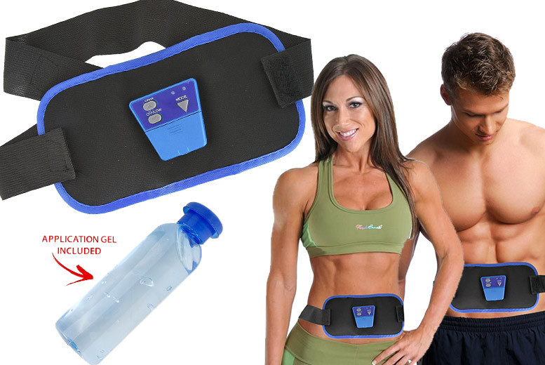 The Best Deal Guide - £9.99 instead of £29.99 for an abs gymnic electronic toning belt from Shop Monk - save 67%