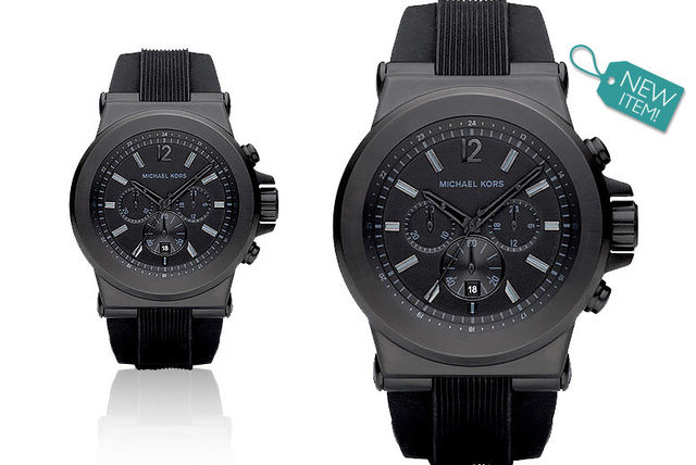 84cec7b0dd10 £125 instead of £229 for a men s Michael Kors MK8152 Dylan chronograph watch  from Gray Kingdom - save 45%