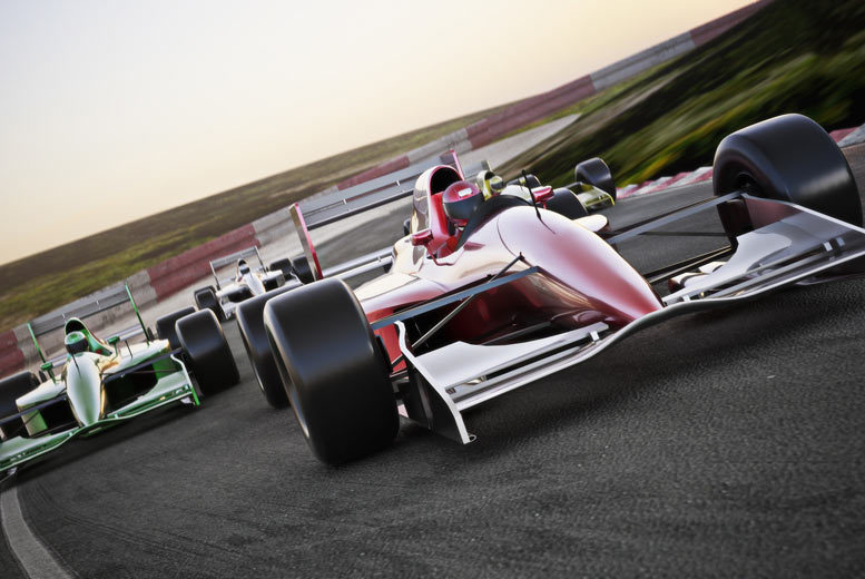 Formula 1 Grand Prix & Hotel - Choose from 18 Races!