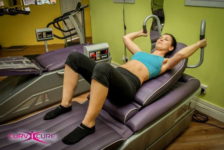 The Best Deal Guide - £12 for a one-month toning table gym pass from Curv i Cure
