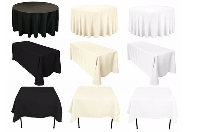 From £6 Instead Of £14.01 (from Trimming Shop) For A Round Heavy Duty  Tablecloth, £6 For A Square Tablecloth Or £10 For A Rectangular Tablecloth    Choose ...