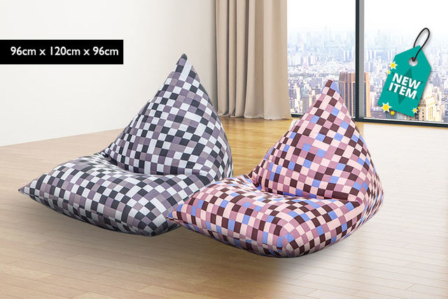 EUR29 Instead Of EUR3979 From Shopisfy For A Pyramid Shaped Childrens Bean Bag