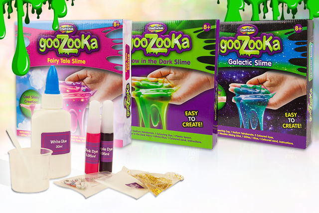 1 or 3 create your own slime kits 3 colours shopping livingsocial
