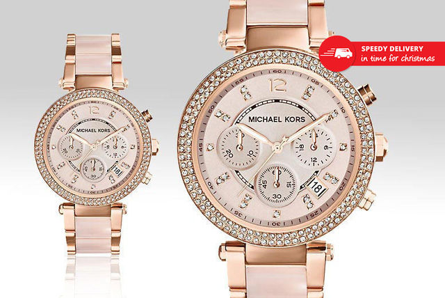 90c07d06feec €149 instead of €308.51 (from Gray Kingdom) for a Michael Kors MK5896  ladies  watch - save 52%
