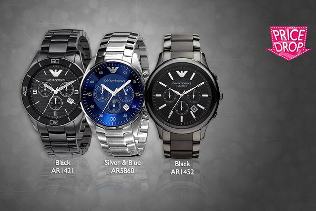 a53c296023 Emporio Armani Watch - 5 Designs! | Shopping | LivingSocial