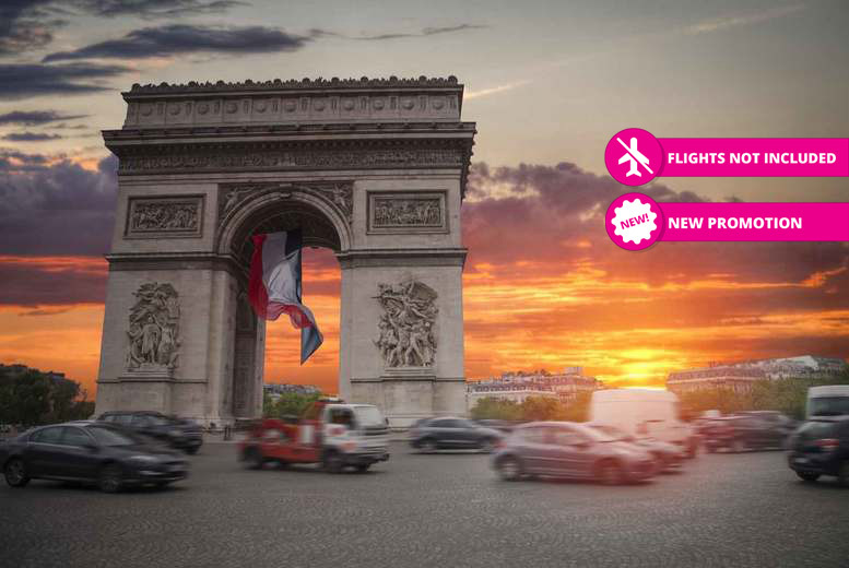 Central Paris City Break, Wine & Breakfast for 2 - Summer 2018 Dates!