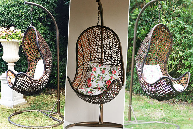 £169 Instead Of £399 For A Garden Rattan Egg Chair   Save 58%