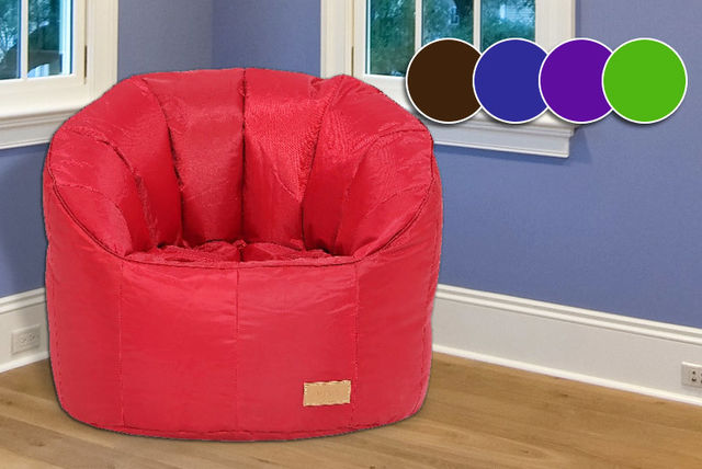 GBP24 Instead Of GBP9999 For A Giant Pumpkin Style Beanbag Chair