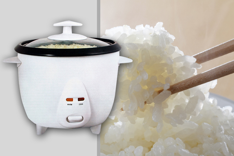 Image of From £13 for a three-piece 0.8l rice cooker set, £16 for 1.8l or £17 for 2.5l capacity from DIRECT2PUBLIK LTD - save up to 48%