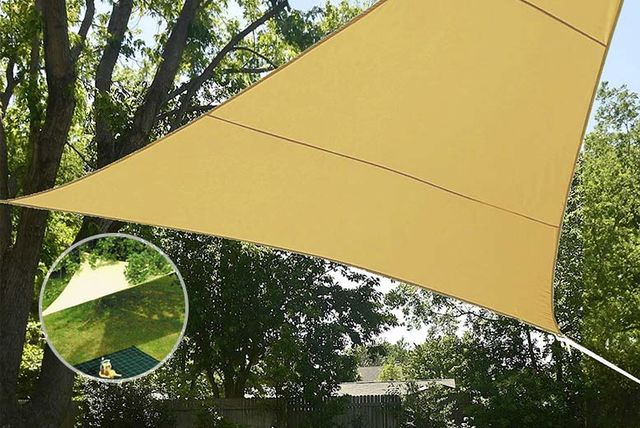 Large Triangle Sun Shade Sail Shopping Livingsocial