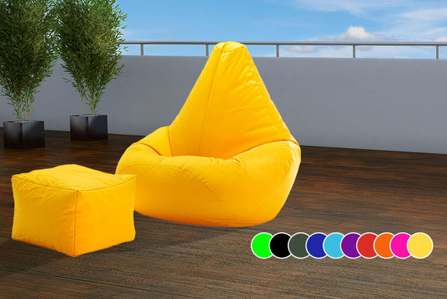 EUR3950 Instead Of EUR12521 From UK Beanbags For An Outdoor Highback Beanbag With A Matching Footstool