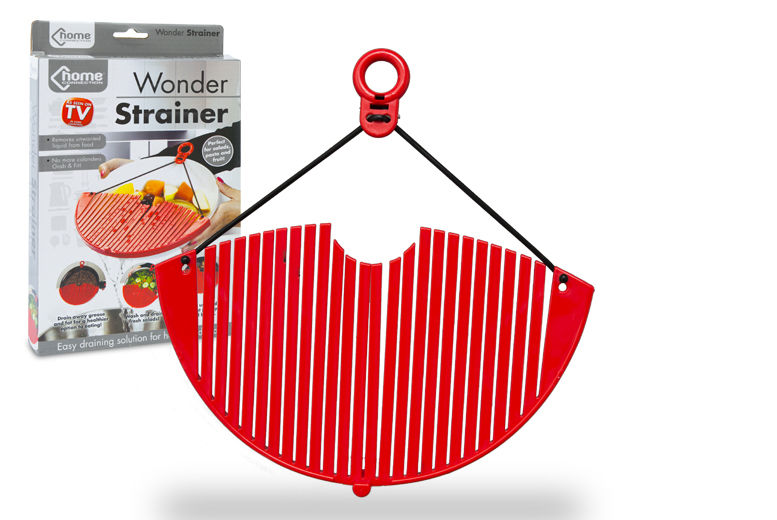 Image of £1.99 instead of £8.99 for an expandable kitchen strainer from Ckent Ltd - save up to 78%