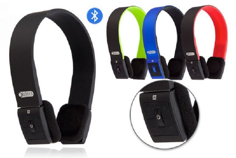 Image of £12 instead of £39.99 for bluetooth over-ear headphones - choose from four colours from Spot Promotions - save 70%