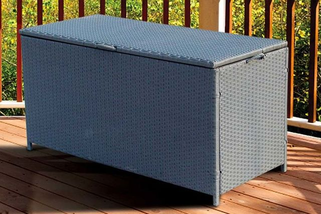£75 instead of £289.01 (from Sashtime) for a rattan garden storage box with waterproof lining - save 74% & Steel Garden Box | Shopping | LivingSocial