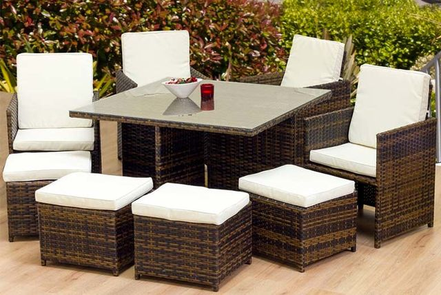 479 instead of 137901 from oseasons for an eight seater oseasons cube rattan garden furniture set save 65 - Garden Furniture 8 Seater
