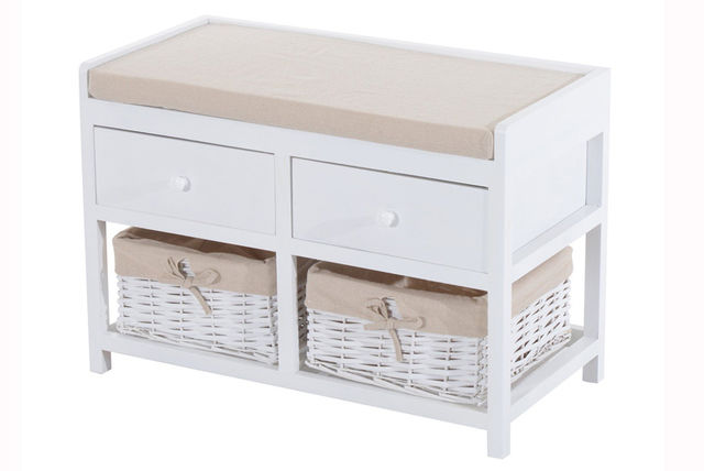 £49 Instead Of £110 (from Aosom) For A Two Drawer And Basket Storage Bench,  Or £74.99 For Three Drawers And Baskets   Save Up To 55%