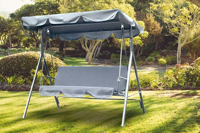 Outdoor 3 Seater Swing Bench Shopping Livingsocial