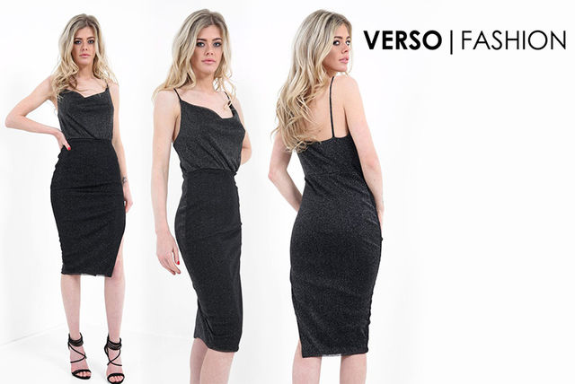 6694e54d6b0c7 £12 instead of £39.99 (from Verso Fashion) for a glitter dress - save 70%