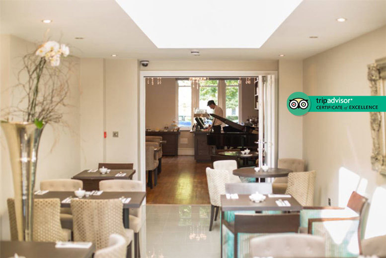 5* Boutique Cardiff Stay, Breakfast & Bottle of Wine for 2