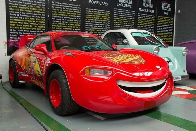 7e243b8fbd London Motor Museum With 'Cars 3' Lightning McQueen £9 | London |  LivingSocial