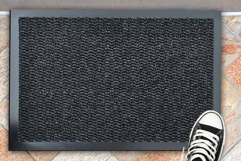 From £4.99 instead of £17 (from Home Decoration and Fashion) for a rubber-backed door mat - save up to 75%